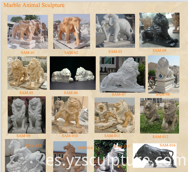 stone animal sculpture