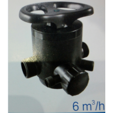 manual softener valve for water treatment systems