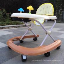 Vente chaude Bébé Produits Jouets Nouveau Modèle Bébé Traitant Walker avec Certificat