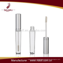 2015 Hot Sell Plastic Round Mini Lipgloss Tube on cosmetic