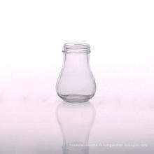 Vodka vide gros bouteille d'eau en verre 250ml