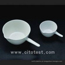 Prato de Evaporação de Porcelana