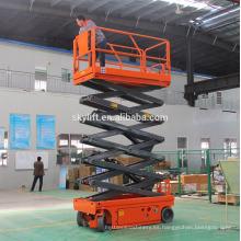 Plataformas elevadoras de tijera hidráulicas autopropulsadas mesas elevadoras