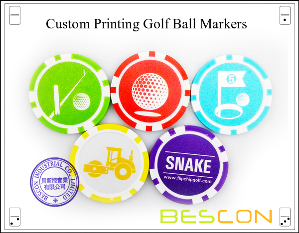 Custom Printing Golf Ball Markers-3