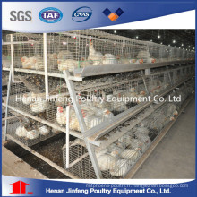 Cage de poulailler de poulet de machines de ferme de galvanisation à froid à vendre
