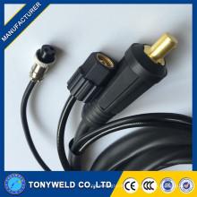Tocha de soldagem de tig de alta qualidade wp26 com resfriamento a ar