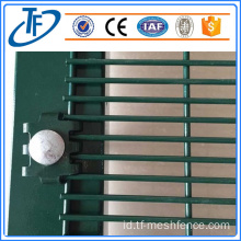 76.2mm * 12.7mm hot dip galvanized 358fence