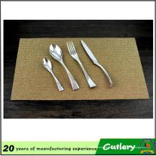 Couteau en acier inoxydable de haute qualité Fourchette Cuillère Vaisselle Couverts