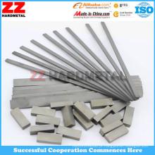 ISO K30 Carbeto de tungstênio Alta resistência ao desgaste Bar Plate Strip