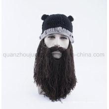 Custom Winter Creative Viking Beard Knitted Hat