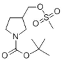 3-METHANESULFONYLOXYMETHYL-PYRROLIDINE-1-CARBOXYLIC ACID TERT BUTYL ESTER CAS 141699-56-1