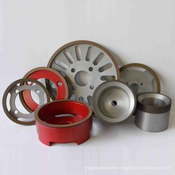Abrasives, CBN & Diamond Grinding Wheels (6A2, 12A2)