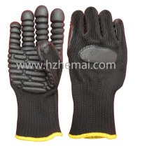 Anti Impact Mechanic Gloves Power Drill Work Glove