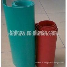 Feuille de PVC souple