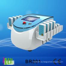 Perder peso rápido Lipolaser grasa eliminación de la forma del cuerpo de la máquina / Mitsubihsi Diodos dispositivo de belleza