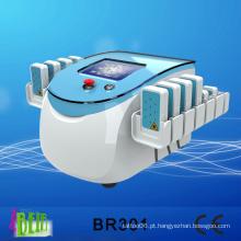 Fast Lose Peso Lipolaser gordura remoção corpo forma máquina / Diodos Mitsubihsi dispositivo de beleza