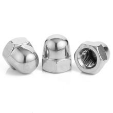 DIN1587 Stainless Steel 304 M3 M4 M5 M6 M8 M10 M12 M14 M16 M18 M20 M24 Acorn Nut Hex Domed Cap Nut