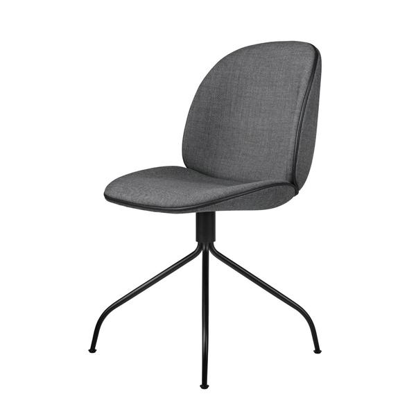 Beetle_Chair_Swivel_Black_Kvadrat_Remix163_Piping_Leather_Black_Front_grande