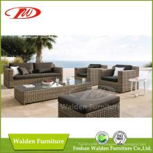 Ensemble de canapé d'ameublement de style Rattan nouveau design