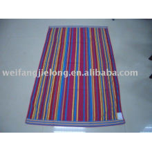 100% cotton jacquard beach towel