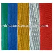 100% malha de poliéster de alta visibilidade tecido fluorescente