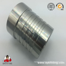 Carbon Steel Interlock Hydraulic Hose Ferrule by CNC Machine (00621)