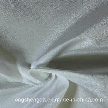 Resistente al agua y al viento Antiestático Ropa deportiva al aire libre Tejido 100% Jacquard de diamante de tela de poliéster