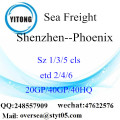 Shenzhen Port Sea Freight Shipping ke Phoenix
