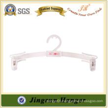 New Promotion Lingerie Hanger White Plastic Underwear Hanger