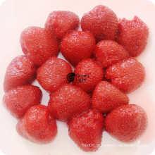 Frutas enlatadas Morangos enlatadas em calda