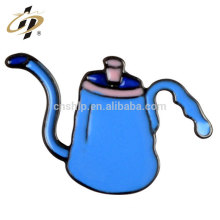 Home decoration blank metal alloy custom shape jug lapel pins