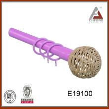E19100High Quality Low Price Decorative Curtain Rod