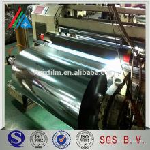 China Metalizado pet película de papel de aluminio contenedor