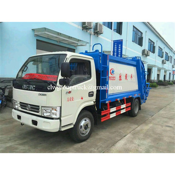 DFAC 4X2 5 ton compactor garbage truck