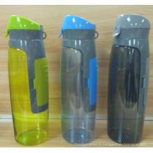 Bouteille d'eau gratuite Tritan BPA avec espace sac à main