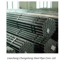 DIN schwarzes rundes nahtloses Stahlrohr Kohlenstoffstahlrohr