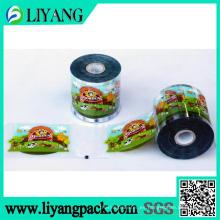 Diseño del cliente, película de transferencia de calor para envase de alimentos