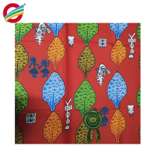 La cera africana pura de la elegancia del poliéster imprime la tela tejida para la venta