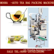 Tea Filter Bag Packaging Machinery (inner and outer with string, tag)
