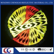 PVC-schwarzer Pfeil-reflektierender Sicherheits-warnender Fahrzeug-Aufkleber