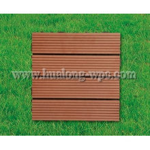 WPC Decking Wood Plastic Composite DIY Tile for Outdoor