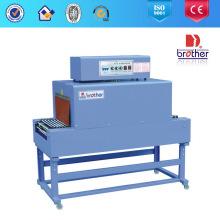 Tipo impulsado por electricidad y máquina automática de envoltura de película termoencogible de grado automático