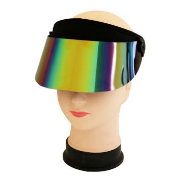 Novo design de proteção UV com viseira de plástico para o sol