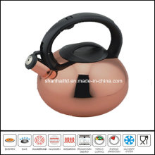 Copper Plated Whistle Kettle