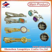 Professionelle Fabrik Made Großhandel Metall Bindung Pin Set Manschettenknöpfe