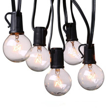 Globe Patio Light String with G40 Incandescent Bulbs