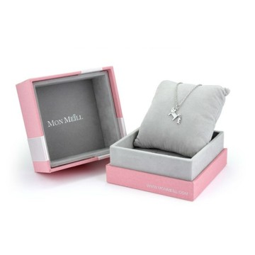 Necklace or Watch Packaging Velvet Pillow Gift Box