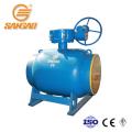 Robinet à boisseau sphérique entièrement soudé en acier inoxydable pipeline ASME B16.5 900LB 15MPA