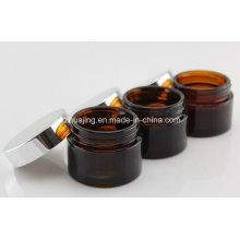 20g 30g 50g Amber Glass Cream Jars