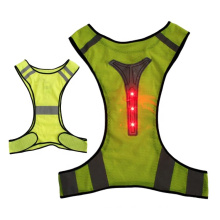 Reflective Vest Safety Clothing, Outdoor Yellow Green Orange Color Printing Tape Feture Material/